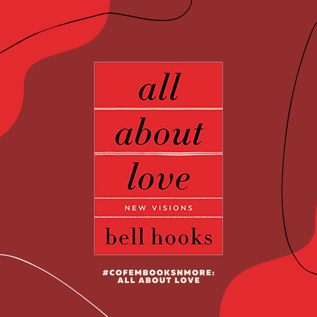 Book titled: All About Love by bell hooks