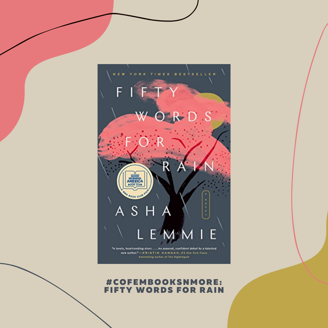 Book title fifty words for rain by asha lemmie